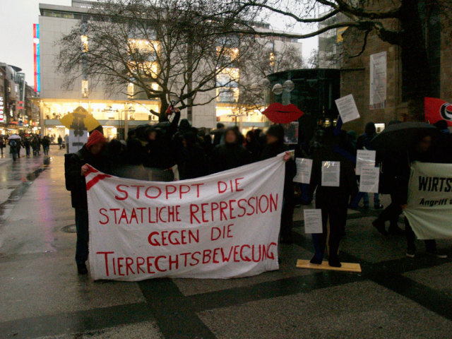 Demonstration in Dortmund