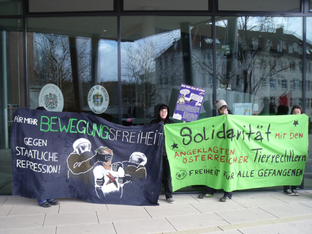Demonstration in Kiel